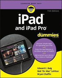 bokomslag iPad and iPad Pro For Dummies
