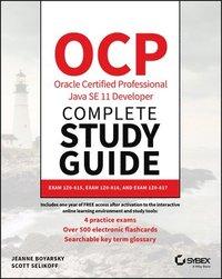 bokomslag OCP Oracle Certified Professional Java SE 11 Developer Complete Study Guide