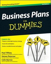 bokomslag Business Plans For Dummies