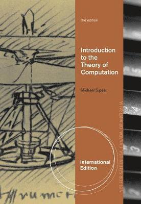 bokomslag Introduction to the theory of computation, international edition