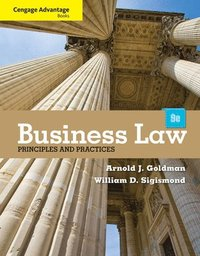 bokomslag Cengage Advantage Books: Business Law: Principles and Practices