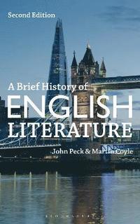 bokomslag A Brief History of English Literature