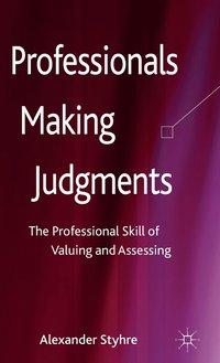 bokomslag Professionals Making Judgments