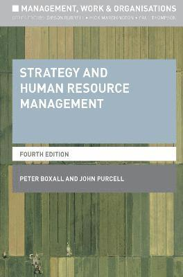 bokomslag Strategy and Human Resource Management