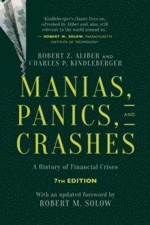 bokomslag Manias, Panics, and Crashes: A History of Financial Crises, Seventh Edition