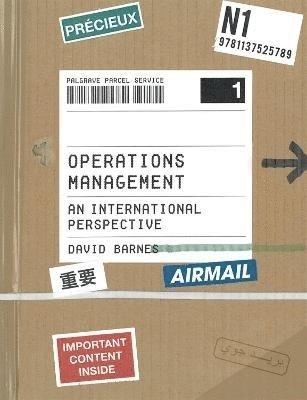 bokomslag Operations Management: An International Perspective