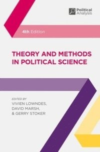 bokomslag Theory and Methods in Political Science