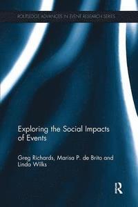 bokomslag Exploring the Social Impacts of Events