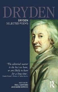 bokomslag Dryden:Selected Poems
