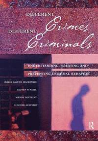 bokomslag Different Crimes, Different Criminals