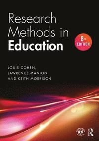 bokomslag Research methods in education