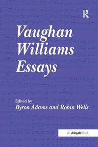 bokomslag Vaughan Williams Essays