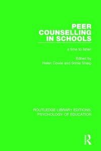 bokomslag Peer Counselling in Schools