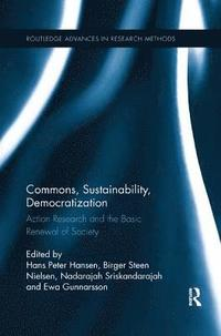 bokomslag Commons, Sustainability, Democratization