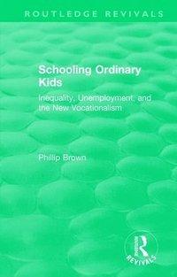 bokomslag : Schooling Ordinary Kids (1987)