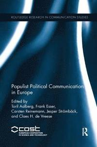 bokomslag Populist Political Communication in Europe