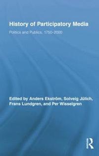 bokomslag History of Participatory Media