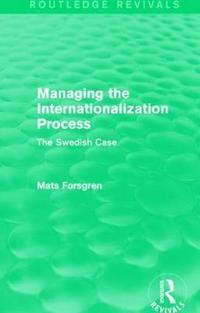 bokomslag Managing the Internationalization Process