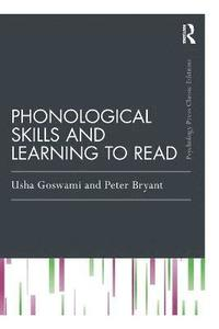 bokomslag Phonological Skills and Learning to Read