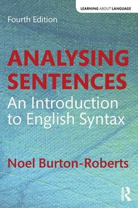 bokomslag Analysing Sentences: An Introduction to English Syntax