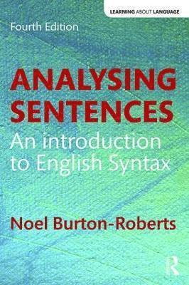 bokomslag Analysing Sentences