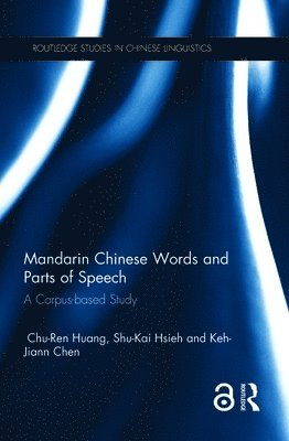 bokomslag Mandarin chinese words and parts of speech - a corpus-based study