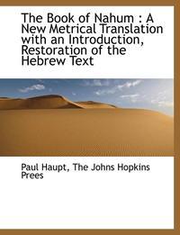 bokomslag The Book of Nahum