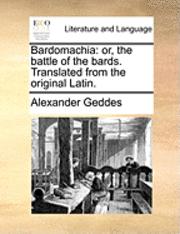 bokomslag Bardomachia