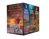 bokomslag Stormlight Archive MM Boxed Set I, Books 1-3: The Way of Kings, Words of Radiance, Oathbringer