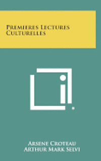 bokomslag Premieres Lectures Culturelles
