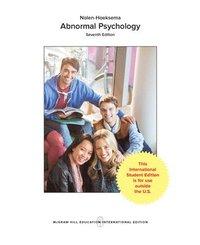 bokomslag LooseLeaf for Abnormal Psychology