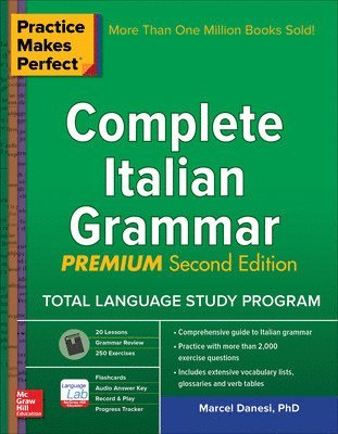 bokomslag Practice makes perfect: complete italian grammar, premium second edition