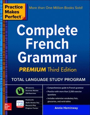 bokomslag Practice Makes Perfect: Complete French Grammar, Premium Third Edition