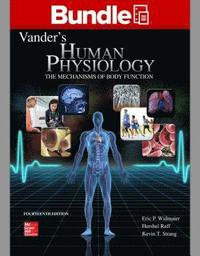 bokomslag Loose Leaf Version of Vander's Human Physiology with Connect Access Card