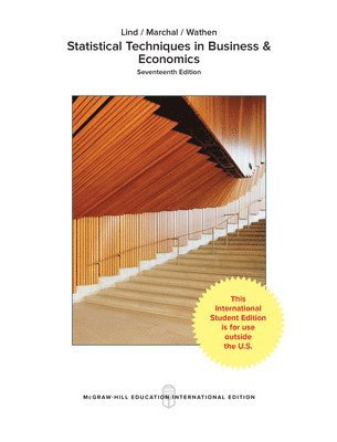 bokomslag Statistical techniques in business and economics