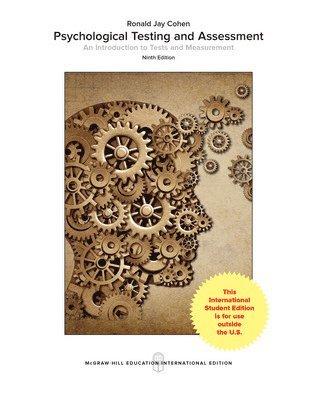 bokomslag Psychological Testing and Assessment