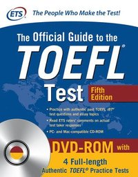 bokomslag The Official Guide to the TOEFL Test with DVD-ROM, Fifth Edition