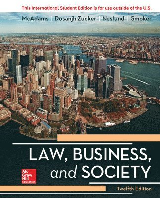 bokomslag Ise law, business and society