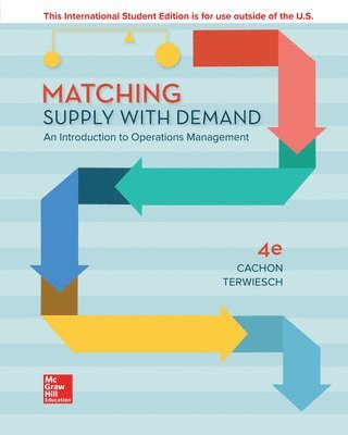 bokomslag Matching Supply with Demand: An Introduction to Operations Management