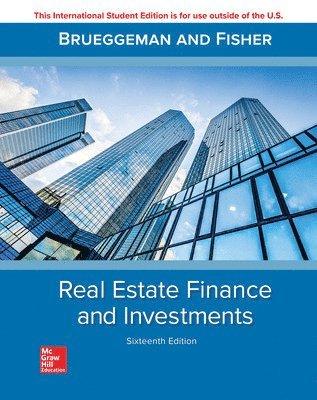 bokomslag Real Estate Finance & Investments 16e