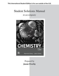 bokomslag ISE Student Solutions Manual for Chemistry