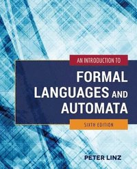 bokomslag An Introduction to Formal Languages and Automata