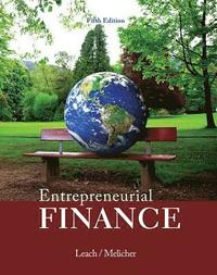 bokomslag Entrepreneurial Finance