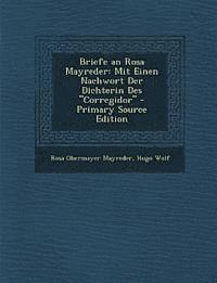 bokomslag Briefe an Rosa Mayreder