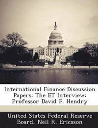 bokomslag International Finance Discussion Papers