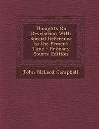 bokomslag Thoughts on Revelation