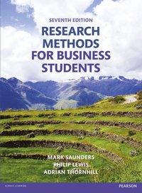 bokomslag Research Methods for Business Students