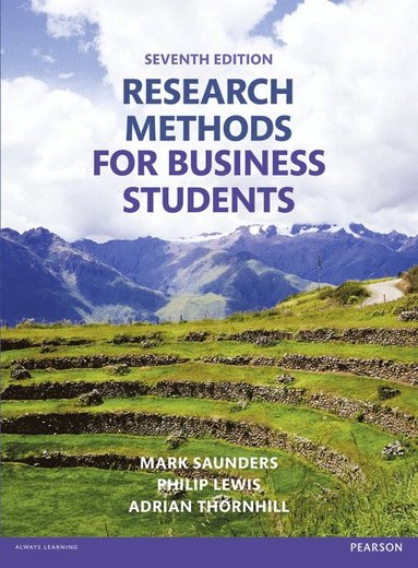 bokomslag Research Methods for Business Students