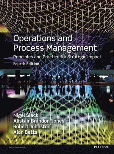 bokomslag Operations and Process Management
