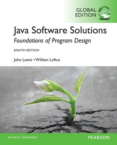 bokomslag Java Software Solutions: Global Edition
